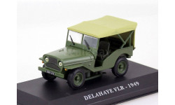 Delahaye VLR 1949 Altaya, масштабная модель, 1:43, 1/43