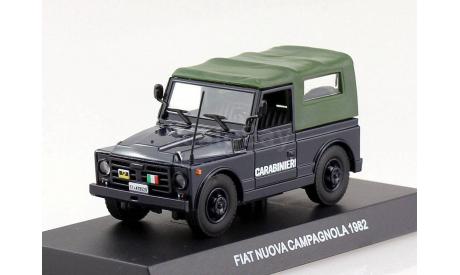 FIAT Nuova Campagnola Carabinieri 1982 DeAgostini, масштабная модель, scale43