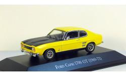 Ford Capri 1700 GT 1969-72 Hachette, масштабная модель, 1:43, 1/43