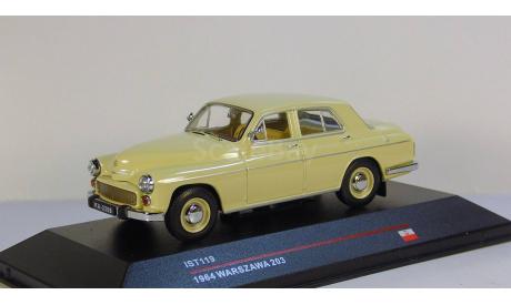 Warszawa 203 1964 Ist models, масштабная модель, 1:43, 1/43