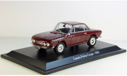 Lancia Fulvia Coupe 1965 Hachette, масштабная модель, 1:43, 1/43