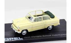 Opel Olympia Rekord Cabrio-limousine 1954-1956 Eaglemoss, масштабная модель, 1:43, 1/43