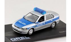 Opel Vectra B Polizei 1995-2002 Eaglemoss, масштабная модель, 1:43, 1/43