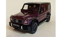 Mercedes G63Amg W463 Crasy color Limited 1:18, масштабная модель, GT Spirit, scale18, Mercedes-Benz