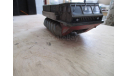 Шнекороторный болотоход Зил 4904, масштабная модель, scale43