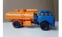 Маз 5334 Топливозаправщик ац-8 Синий/оранжевый, масштабная модель, Наш Автопром, scale43