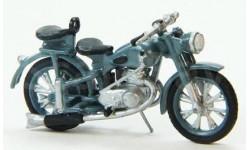 Модель советский мотоцикл ИЖ-49 (1951-58) 1/43 ЯВЬ-УНИВЕРСАЛ