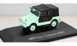 Модель DKW-Vermag Candango/Munga 4x4 (1961) 1/43 IXO, масштабная модель, 1:43
