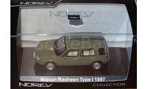 Модель  NISSAN RASHEEN AWD Type I (1997) 1/43 NOREV, масштабная модель, 1:43