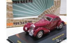 Модель DELAGE D6-70 (1935) 1/43 IXO/museum, масштабная модель, 1:43