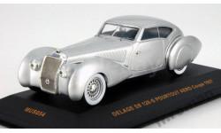 Модель Delage D8 120-S Pourtout Aero Coupe 1937 1/43 IXO, масштабная модель, 1:43