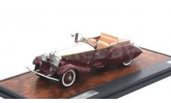 Rolls-Royce Phantom II Barker Boattail Hrh Maharaja of Rewa #179XJ 1930 1/43 MATRIX, масштабная модель, 1:43