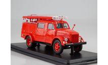 Модель пожарный ПМГ-36 (ГАЗ-51) 1/43 SSM, масштабная модель, scale43