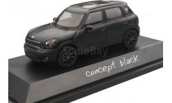 MINI COOPER S COUNTRYMAN (4х4) CONCEPT BLACK 2010 1/43 SCHUCO