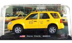 Модель Ford Escape Hybrid - New York TAXI 2005 1/43 AMERCOM/IXO