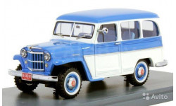 Модель Jeep Willys Station Wagon 4x4 1954 1/43 NEO