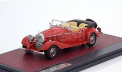 MERCEDES-BENZ 500K Tourer Mayfair #123689 (открытый) 1934 1/43 MATRIX