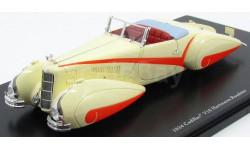 Cadillac V16 Hartmann Roadster (1934) 1/43 TSM