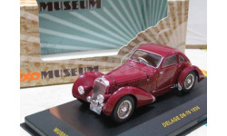 Модель олдтаймер DELAGE D6-70 (1935) 1/43 IXO/MUSEUM