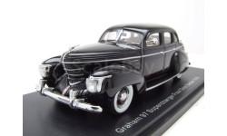 Модель Graham 97 Supercharger Four Door Sedan 1939 1/43 NEO, масштабная модель, scale43