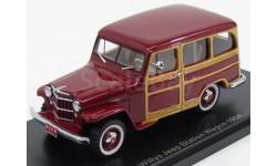 Модель Jeep Willys Station Wagon 4x4 (Woody) 1954 1/43 NEO