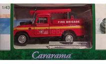Модель LAND ROVER SIII 109 PICK UP FIRE 1/43 HONGWELL/CARARAMA, масштабная модель, scale43