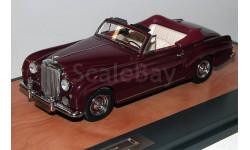 Модель Bentley S1 Continental DHC Park Ward & Co. (1956) 1/43 MATRIX