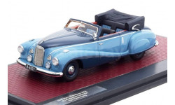 Модель Mercedes-Benz 320A (W142) Special Cabriolet 'Tan Tjoan Keng' 1948 1/43 MATRIX, масштабная модель, 1:43