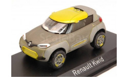 Модель  RENAULT KWID CONCEPT SUV SALOON DE BOMBAY (2014) 1/43 NOREV