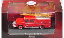 Модель автомобиль DODGE D-500 FIRE TRUCK 1/72 ATLAS, масштабная модель, 1:43, 1/43