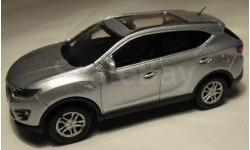 Модель кроссовер SouEast DX7 SUV (2015) 1/43 CHINA DEALER