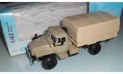 Модель автомобиль грузовой УРАЛ-43206 4х4 1/43 ЭЛЕКОН, масштабная модель, scale43
