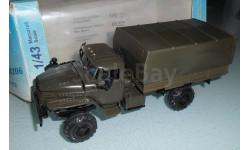 Модель автомобиль грузовой УРАЛ-43206 хаки 1/43 ЭЛЕКОН, масштабная модель, 1:43
