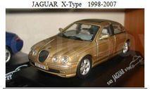 JAGUAR  X-Type   1998-2007, масштабная модель, 1:43, 1/43