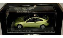 Mercedes Benz C- class  Sport Coupe (CL203) 2001, масштабная модель, 1:43, 1/43, Mercedes-Benz
