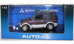 MITSUBISHI PAJERO 1999 SWB, масштабная модель, Mazda, 1:43, 1/43