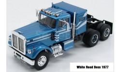White Road Boss 1977, масштабная модель, scale43