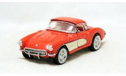 1:43 Chevrolet Corvette 1957 Franklin Mint, масштабная модель, scale43