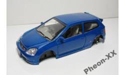 1/32 Honda Civic Type R (Saico), масштабная модель, scale32