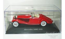 1/43 Mercedes-Benz 540K Roadster 1936 (IXO-Altaya), масштабная модель, scale43, Altaya, Museum Series (музейная серия)