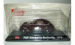 1/43 FIAT 508 CS Balilla Berlinetta №45 1936 (Starline-Hachette), масштабная модель, scale43