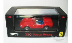 1/43 Ferrari 250 Testa Rossa (Hot Wheels Elite), масштабная модель, scale43