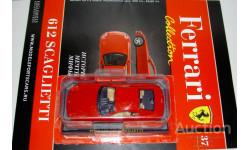 1/43 Ferrari 612 Scaglietti 2004 (Ferrari Collection №37), масштабная модель, scale43, Ferrari Collection (Ge Fabbri)