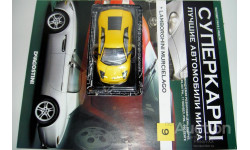 1/43 Lamborghini Murcielago 2001 (Суперкары №9), масштабная модель, 1:43, Суперкары. Лучшие автомобили мира, журнал от DeAgostini