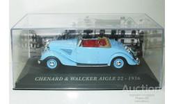 1/43 Chenard & Walcker Aigle 22 1936 (IXO-Altaya), масштабная модель, scale43, Altaya, Museum Series (музейная серия)