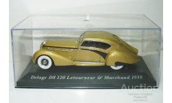 1/43 Delage D8 120 Letourneur & Marchand 1939 (IXO-Altaya), масштабная модель, scale43, Altaya, Museum Series (музейная серия)