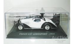 1/43 Voisin C27 Aerosport 1934 (IXO-Altaya), масштабная модель, scale43, Altaya, Museum Series (музейная серия)