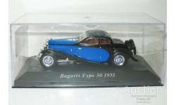 1/43 Bugatti Type 50T Coupe Profilee 1932 (IXO-Altaya), масштабная модель, scale43, Altaya, Museum Series (музейная серия)