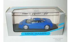 1/43 Bugatti EB110 GT 1991 (Minichamps), масштабная модель, scale43