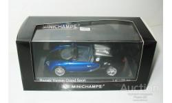1/43 Bugatti EB16.4 Veyron Grand Sport 2010 (Minichamps), масштабная модель, scale43